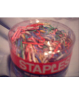 Staples Paper Clips (500 in Package) - $3.00