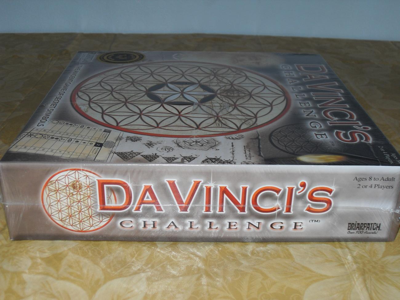 2004 Da Vinci's Challenge Game New In Box Sealed
