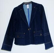 New Ladies Denim Jacket Size 12P image 1