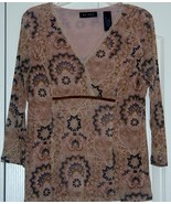 Axcess Floral Blouse size Large - $8.95