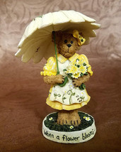 """Boyds Bears """"The Bearstone Collection"""" Blossom Daisybloom, #4015163, 2009 - $18.00"""