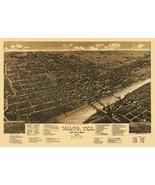 Waco Texas - Wellge 1886 - 23.00 x 32.82 - $36.58+