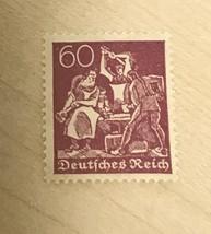 1921 Germany   Stamp J8  MNH   Blacksmith Worker Inflation Labor - $2.92
