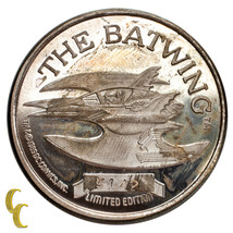 Batman Limited Edition 1 Oz Silver Round 50th Anniversary The Batwing - $113.75