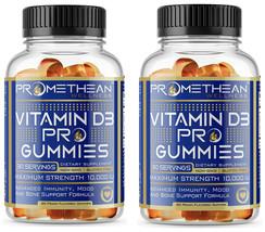 2Pk Extra-Strength Vitamin D3 5000 IU Per Gummies Adults 10000 IU Immune Support - $19.79