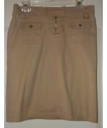 Charlotte Russe Khaki  skirt size 7/8 - $7.95