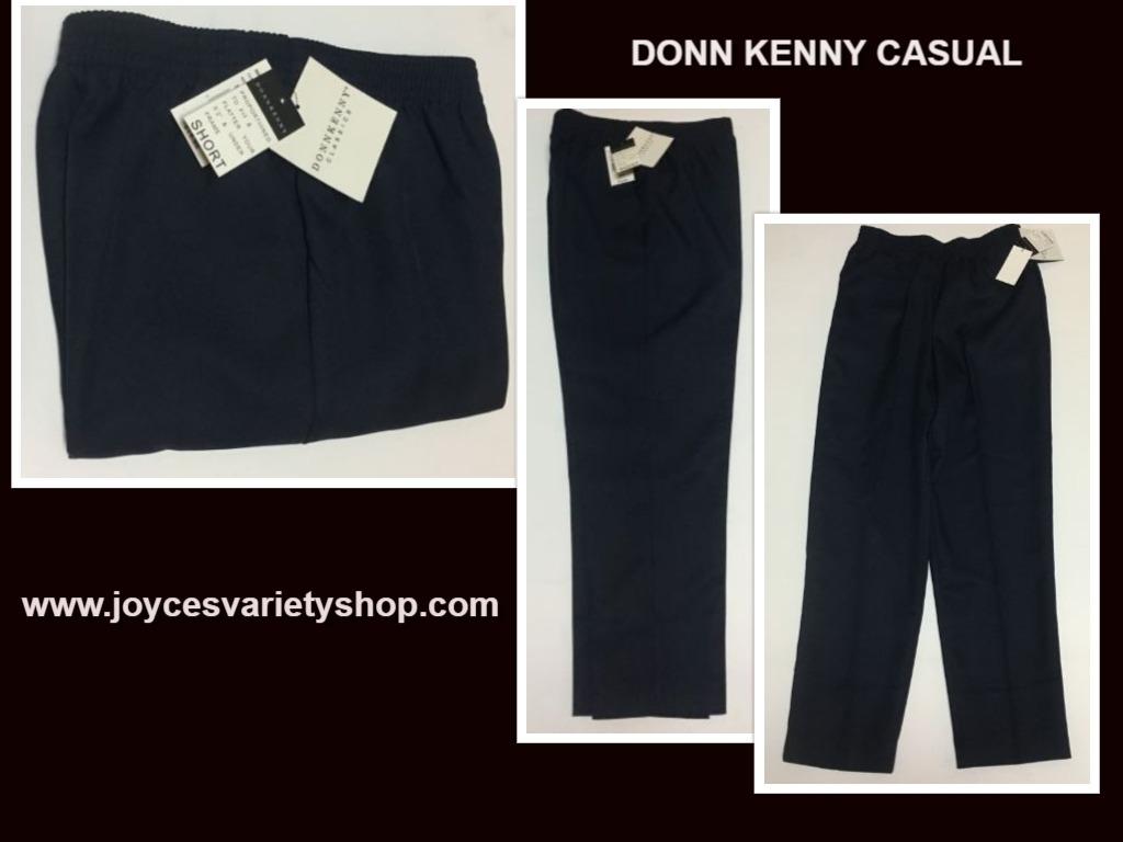 Donn kenny navy blue pants web collage