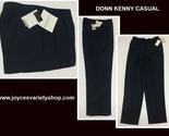 Donn kenny navy blue pants web collage thumb155 crop