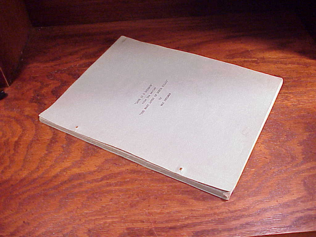 Sample Course Script from The Many Loves of Dobie Gillis TV Series Love Science