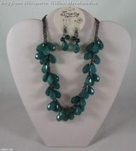 Green Faceted Bead Fashion Jewelry Set - $24.95