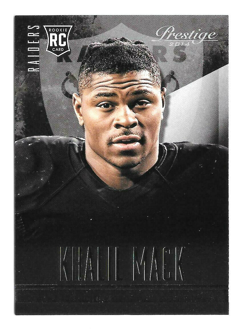 Primary image for 2014 Khalil Mack 5 Card Lot Panini Prestige Rookie - Oakland Raiders