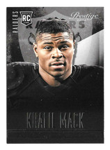 2014 Khalil Mack 5 Card Lot Panini Prestige Rookie - Oakland Raiders - $4.74