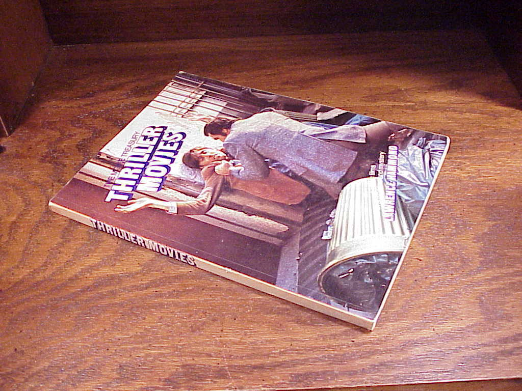 The Movie Treasury Thriller Movies Book by Lawrence Hammond
