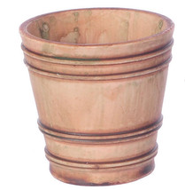 Dollhouse Miniatures 1:12 Scale 2 Pc X-LARGE Anc Gr French Country Pots #A4094GA - $7.99