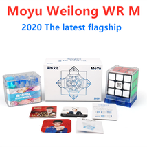 Moyu 2020 Weilong WR M Magnetic 3x3x3 Magic Cube 3x3 Puzzle Speed Cube Black - $49.82