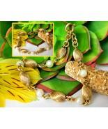 Vintage Gold Filled Beads Pearls Bracelet Signed Carl Art 1/20 12K GF - $24.95