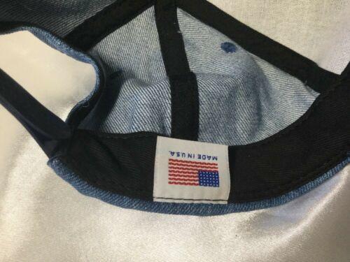 Vintage Denim Modern Welding Co. Cloth SnapBack Hat Cap Made In USA image 7