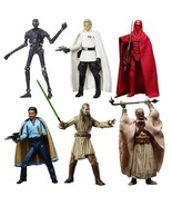 Star Wars The Black Series 6-Inch Action Figures Wave 11 Set of 6, Hasbro - €120,83 EUR