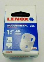 "Lenox 30028 28L 1-3/4"" Wood & Metal Bi-Metal Hole Saw USA - $4.41"