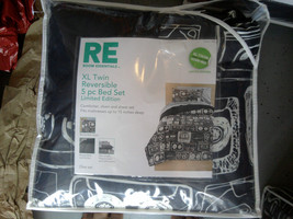 Room Essentials Black Twin/Single Size Extra Long Bedding Set - $60.00