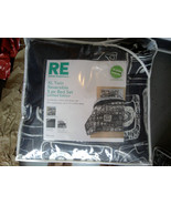 Room Essentials Black Twin/Single Size Extra Long Bedding Set - $57.00
