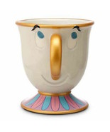 disney parks authentic beauty and the beast ceramic chip mug new - $31.18