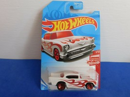 HOT WHEELS RED EDITION 1957 CHEVY - $5.25