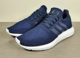 adidas Swift Run Running Shoe, Navy Blue/White, Mens Size 11.5 / 46 FR - £41.52 GBP