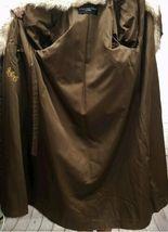 Vintage Authentic Christian Dior Fourrure Brown Fur Coat Size Unknown image 5