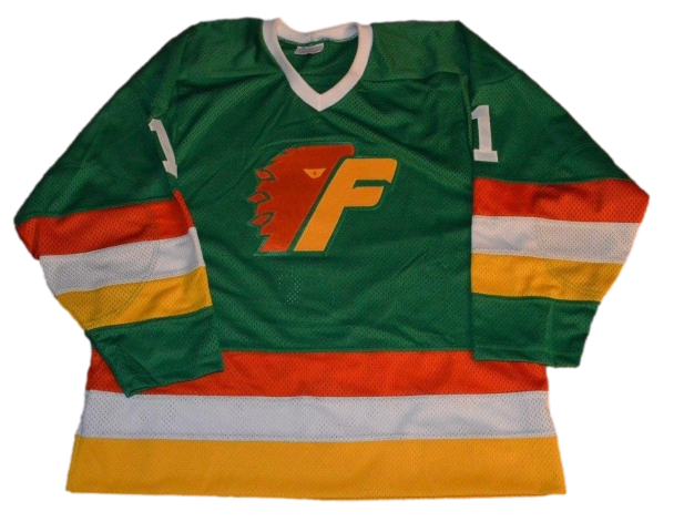 Philadelphia firebirds hockey jersey green 1