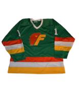 Any Name Number Philadelphia Firebirds Retro Hockey Jersey Green Any Size - $49.99+