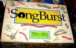 SONBGBURST 70' 80'S THE SONG FILLED SING OFF GAME - $26.00