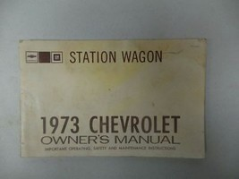 1973 Chevy Chevrolet Station Wagon Owners Manual 16010 - $18.76