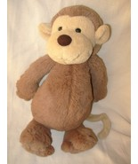 Jellycat Bashful Monkey Plush Stuffed Animal Ta... - $14.99