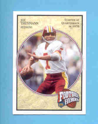 2006 Upper Deck Joe Theismann Football Hero # 56