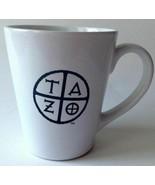 Starbucks 2012 TAZO Tea Cup Mug 12 oz Black and White - $6.92