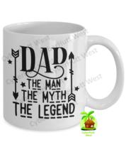 Dad Mug The Man Myth Legend Coffee Mug Father's Day Birthday - $14.84+