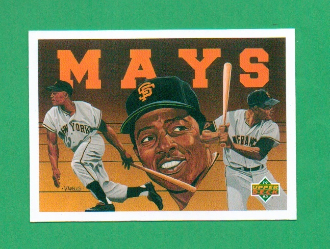 Primary image for 1991 Upper Deck Willie Mays Baseball Heroes