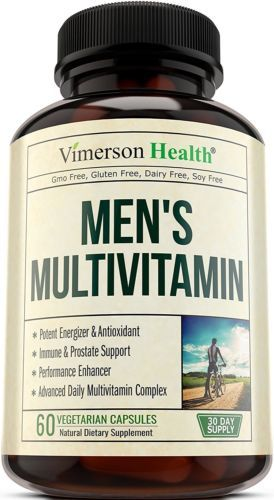 Men's Daily Multivitamin Supplement - Vitamins A C D E B1 B2 B3 B5 B6 B12, Saw for sale  USA