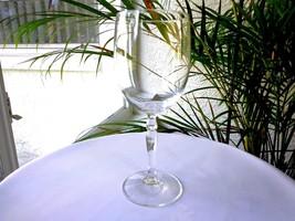"Studio Nova Evita Pattern Clear Crystal Large Water Glass 8 1/2"" - $9.90"