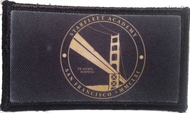 starfleet academy san francisco mmclxi hook and loop embroidered patch pack of 4 - $22.55