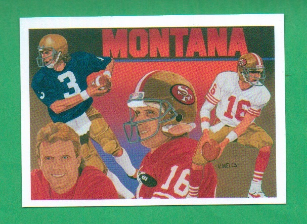 Primary image for 1991 Upper Deck Joe Montana Football Heroes