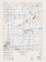 Alpine Butte Sheet - US Army 1943 - 23 x 30.95 - $36.95+