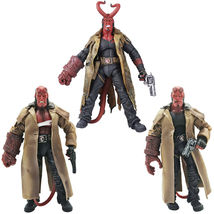 """MEZCO HB Series 2 Wounded Hellboy 7"""" PVC Action Figure Collection Toy Model Gift - $42.99 - $55.99"""
