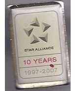 STAR ALLIANCE10 YEAR PIN - $4.95