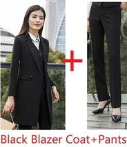 Women's Fashion Career Apparel High Quality 3 Piece Formal Business Pant Suits image 4