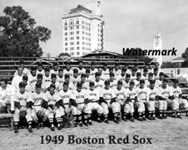 MLB 1949 Boston Red Sox Team Picture Black & White 8 X 10 Photo Free Shi... - $8.99
