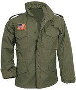 US Military M65 Field John Rambo Commander Foliage Green Army Tank Cotto... - $65.00