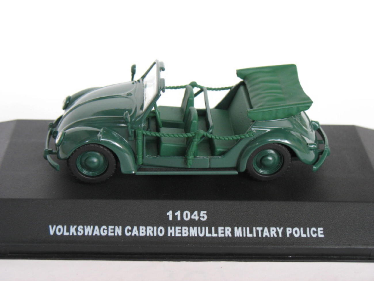 Primary image for Volkswagen Cabrio Hebmuller Military Police Open 1/43 die cast model car (Rare)