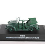 Volkswagen Cabrio Hebmuller Military Police Open 1/43 die cast model car (Rare) - $84.99
